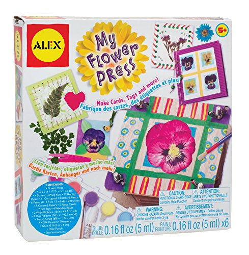 ALEX Toys Craft My Flower Press -