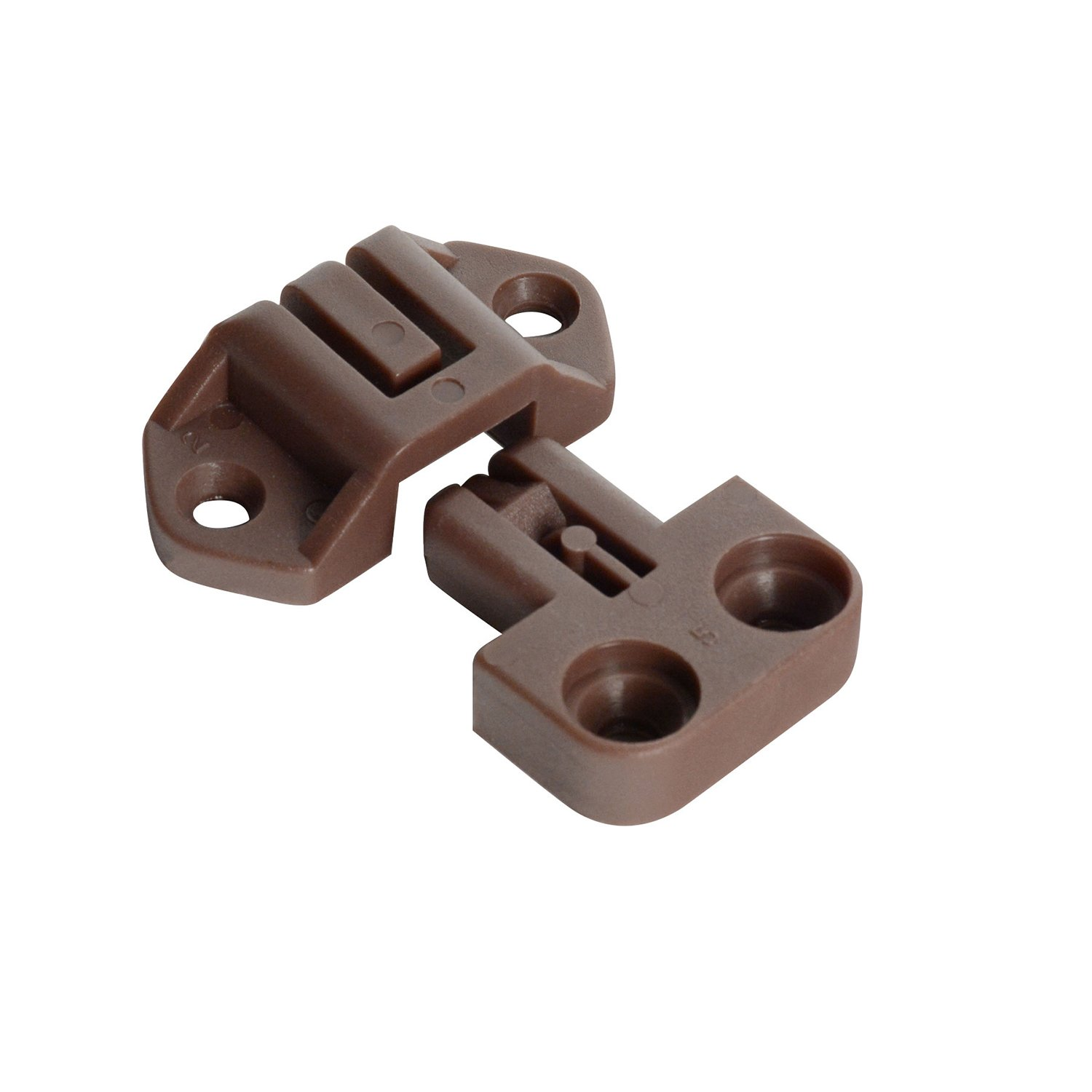 CKP Brand Table Alignment Lock and Strike Brown 4 Pack