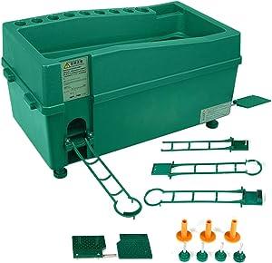 ZXMOTO Golf Ball Dispenser Machine Powerless Automatic Tee Up Machine No Electricity Required Green