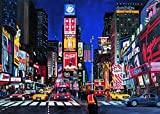 Ravensburger Times Square - 1000 Piece Jigsaw Puzzle for Adults - Every Piece is Unique, Softclick Technology Means Pieces Fit Together Perfectly