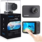 AKASO V50 Pro Native 4K 30fps 20MP WiFi Action Camera with EIS Touch Screen 30m Underwater Waterproof Camera Support…