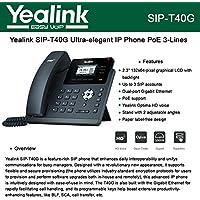 YEALINK Yealink T40G IP POE Phone / YEA-SIP-T40G /