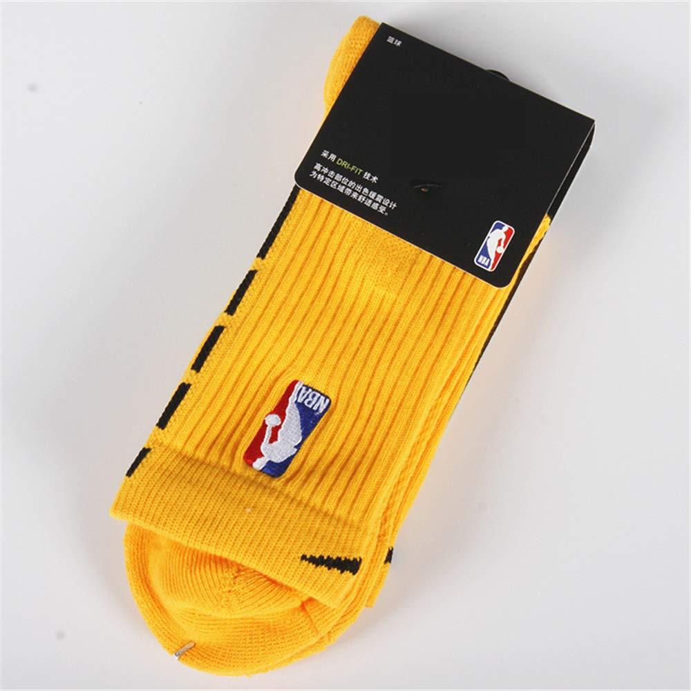 GHQ-WAZI Calcetines de Baloncesto de la NBA Absorción de Choque de ...