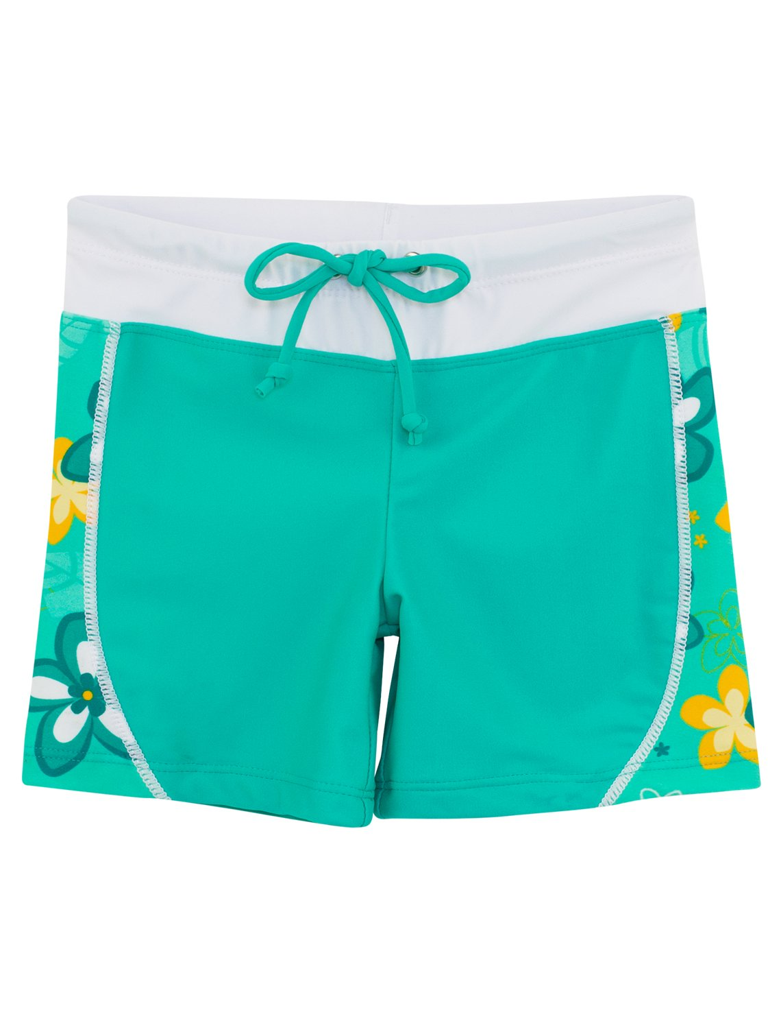 Tuga Girls Swim Shorts 1-14 Years, UPF 50+ Sun Protection Board Short Plangea