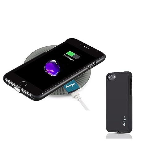 2 en 1 QI Cargador Inalámbrico Kit para iPhone 7/7 Plus, Qi ...
