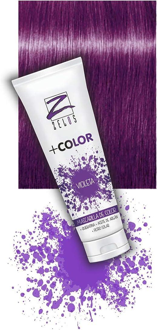 Mascarilla de Color para el Pelo - Violeta - 200 ml - Mascarilla ...