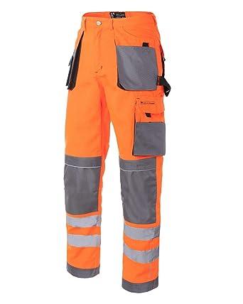 Leber/&Hollman Kurze Arbeitshose Sicherheitshose Schutzhose Hose NEU LH-FMN-TS-ZBS