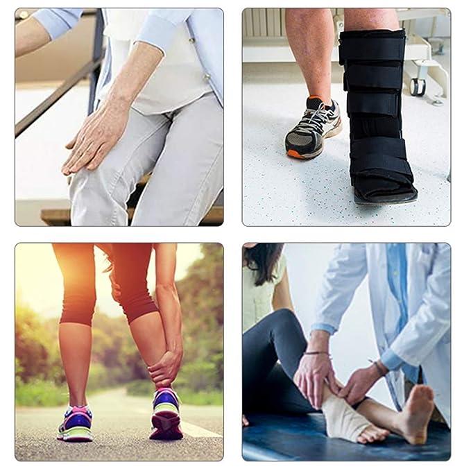 Andador plegable de rodilla Scooter orientable para lesiones ...