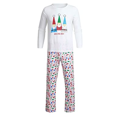Amazon.com: Pajamas de Navidad con dibujos animados de Papá ...