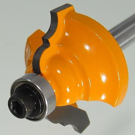 Profilfräser HM Schaft 6 mm Kunstfräser Barocco Profil