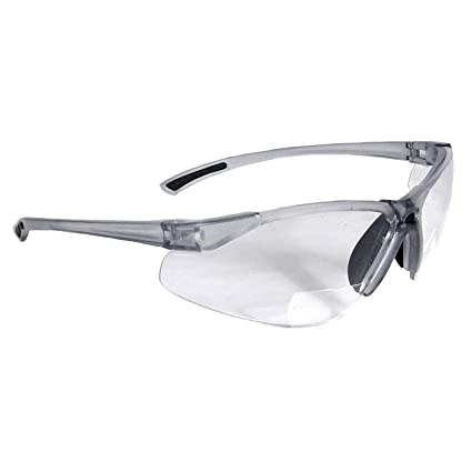 de9b8f384a92 Radians C2-115 Bi-Focal Reading Safety Glasses with Clear 1.5 Lens (1 pack)  - Safety Readers - Amazon.com