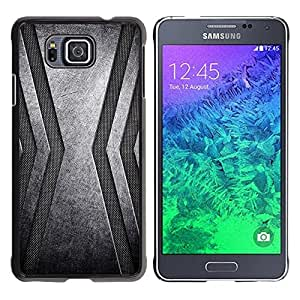 "For Samsung Galaxy Alpha G850 , S-type Acero inoxidable"" - Arte & diseño plástico duro Fundas Cover Cubre Hard Case Cover"
