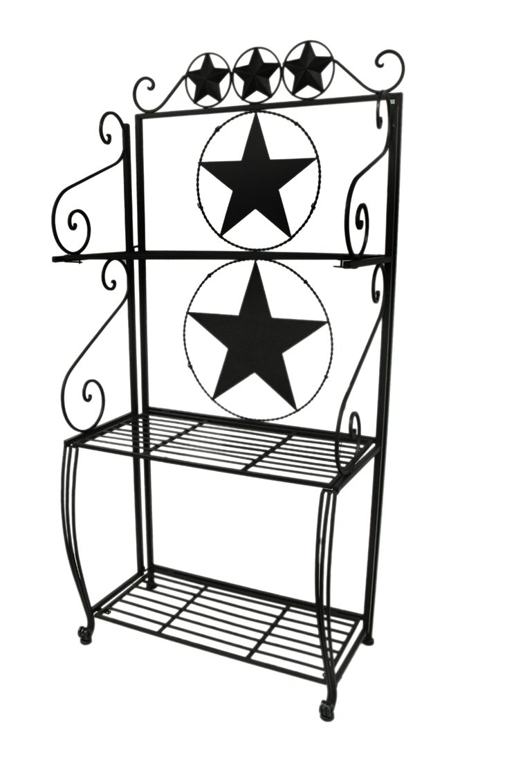 Ll Home Metal Star 3 Tier Baker's Rack