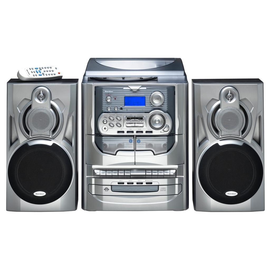 karcher ka 5300 kompaktanlage 3 fach cd wechsler. Black Bedroom Furniture Sets. Home Design Ideas