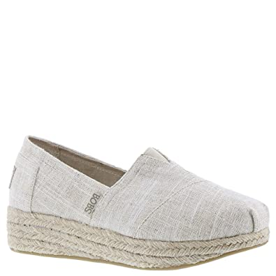 SKECHERS BOBS HIGHLIGHTS Flexpadrille Wedge Espadrille Shoe Natural Tan PICK SZE