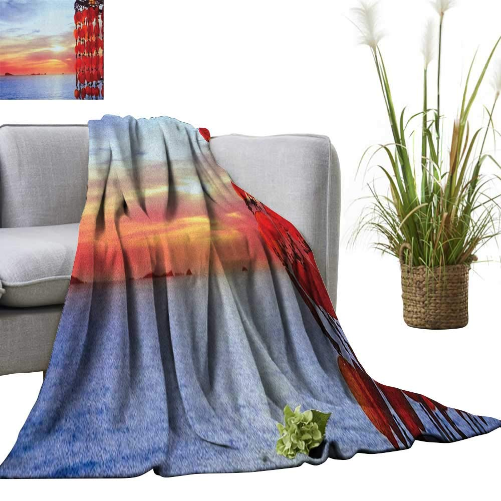 Amazon.com: Superlucky Beach Custom Design Cozy Flannel ...