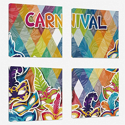 Decoration Mardi Gras Print Artwork For Wall Decor