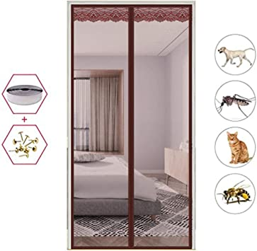 Dormitorio Verano Red De Cifrado Anti Mosquitos Cortina De Velcro ...