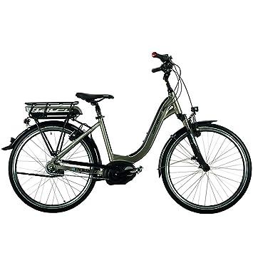 City E Bike Mittelmotor Bosch Active Rücktritt Pedelec Corratec E