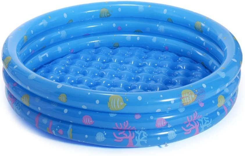 Silver_river Piscinas hinchables bebé,Piscina Inflable de 3 Anillos para niños con Animal del océano: Amazon.es: Juguetes y juegos