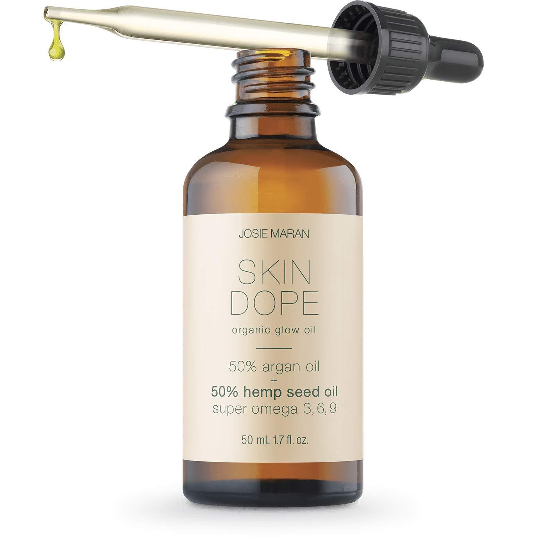 Josie Maran Hemp Seed Oil - Strong, Resilient, Glowing Skin that Bounces Back (50 ml/1.7 fl oz)