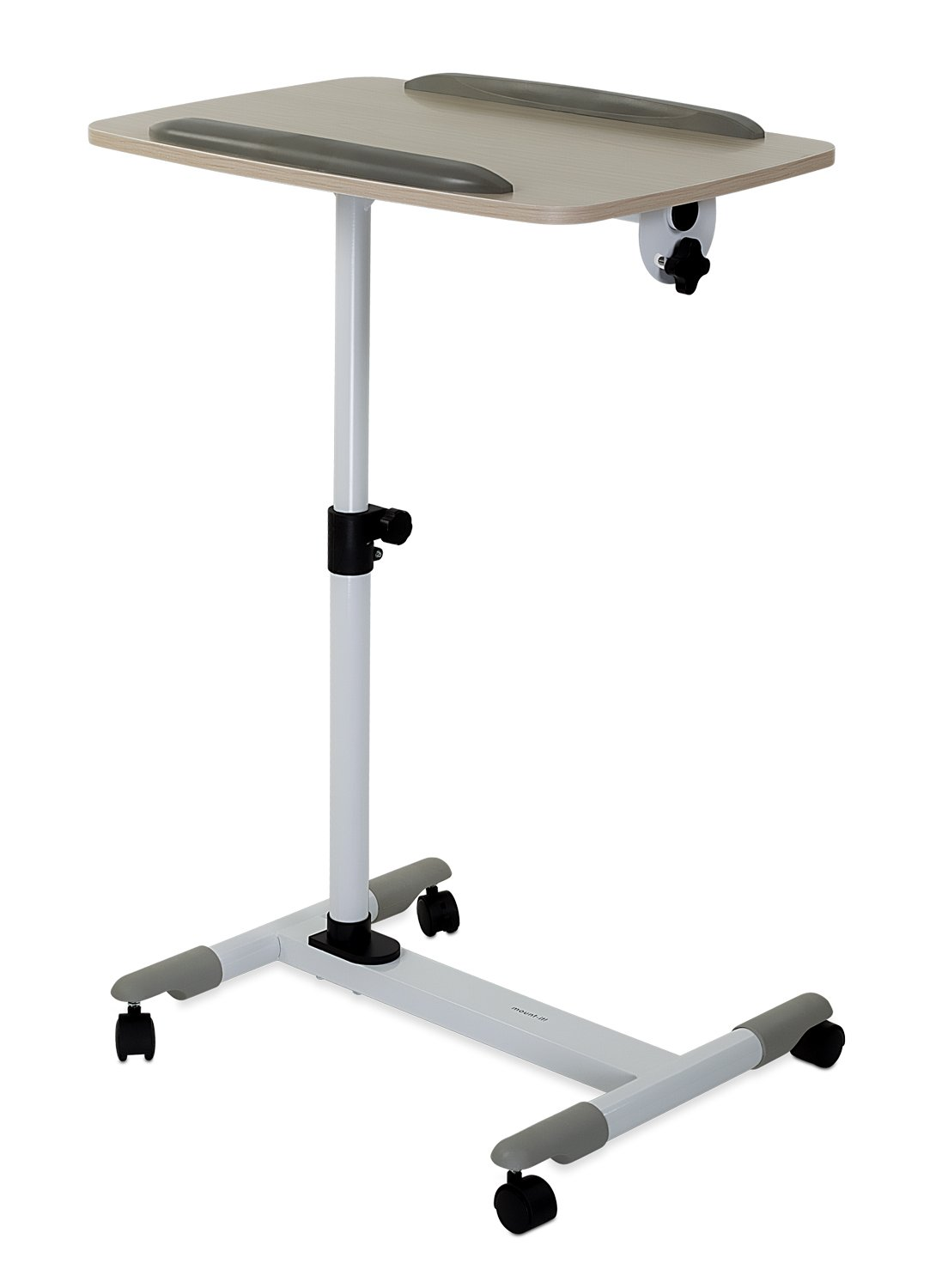 Mount-It! Mobile Projector and Laptop Stand Cart, Height Tilt Angle Adjustable Laptop and Projector Presentation Cart Trolley (MI-7943)