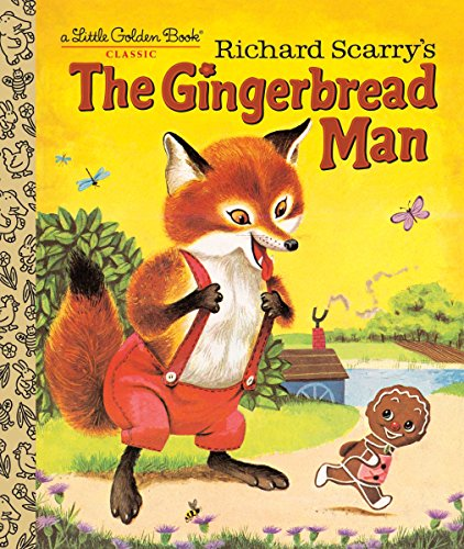 Toddler Gingerbread - Richard Scarry's The Gingerbread Man (Little Golden Book)