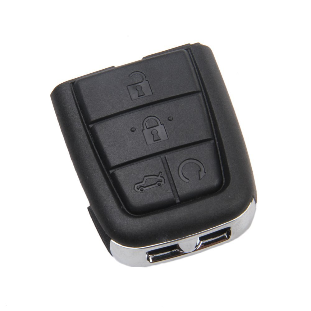For 2008 2009 Pontiac G8 Key Fob Shell Cover Smart Keyless Entry Remote Case (5 Buttons)