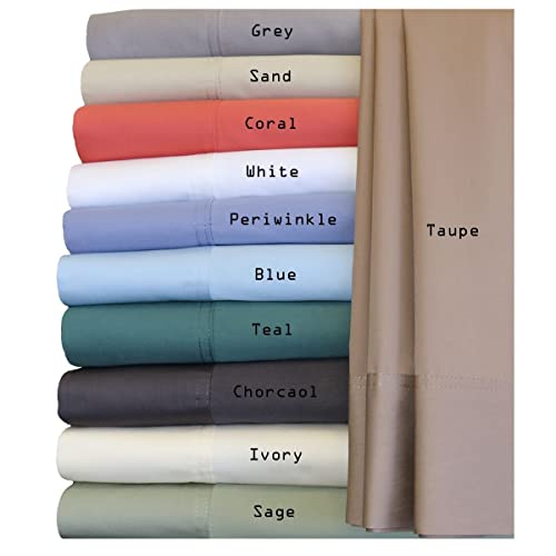 Royal Hotel Silky Soft Bamboo Queen Cotton Sheet Set - White