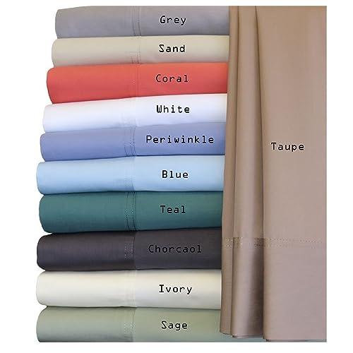 Royal Hotel Silky Soft Bamboo Queen Cotton Sheet Set - White