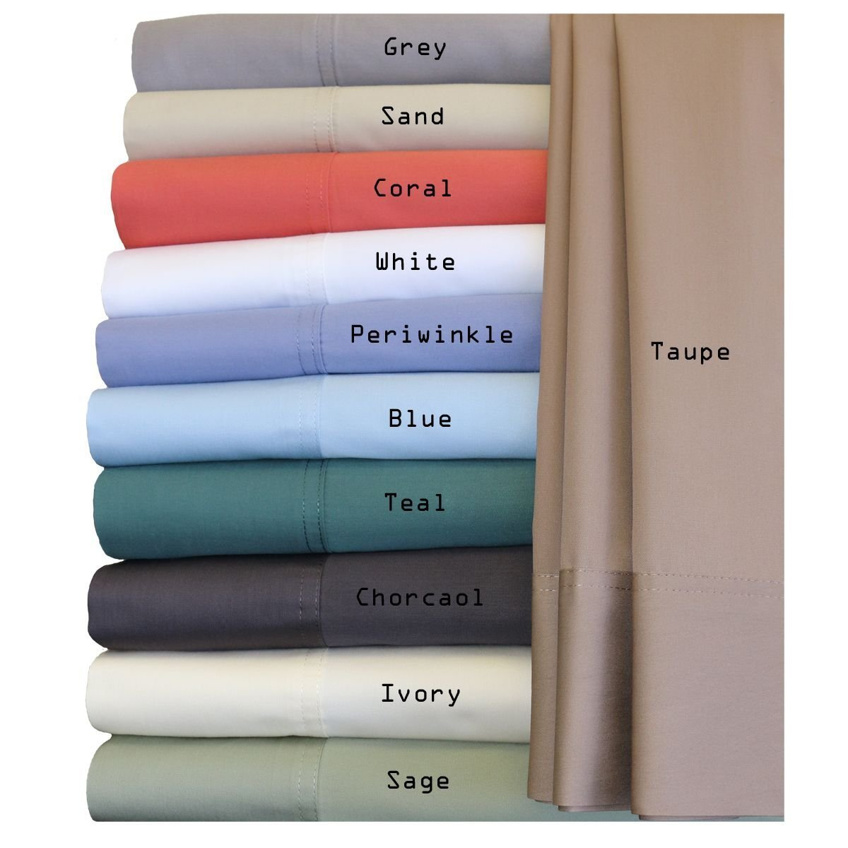 Royal Hotel Silky Soft Bamboo King Cotton Sheet Set - Ivory by Royal Hotel (Image #3)