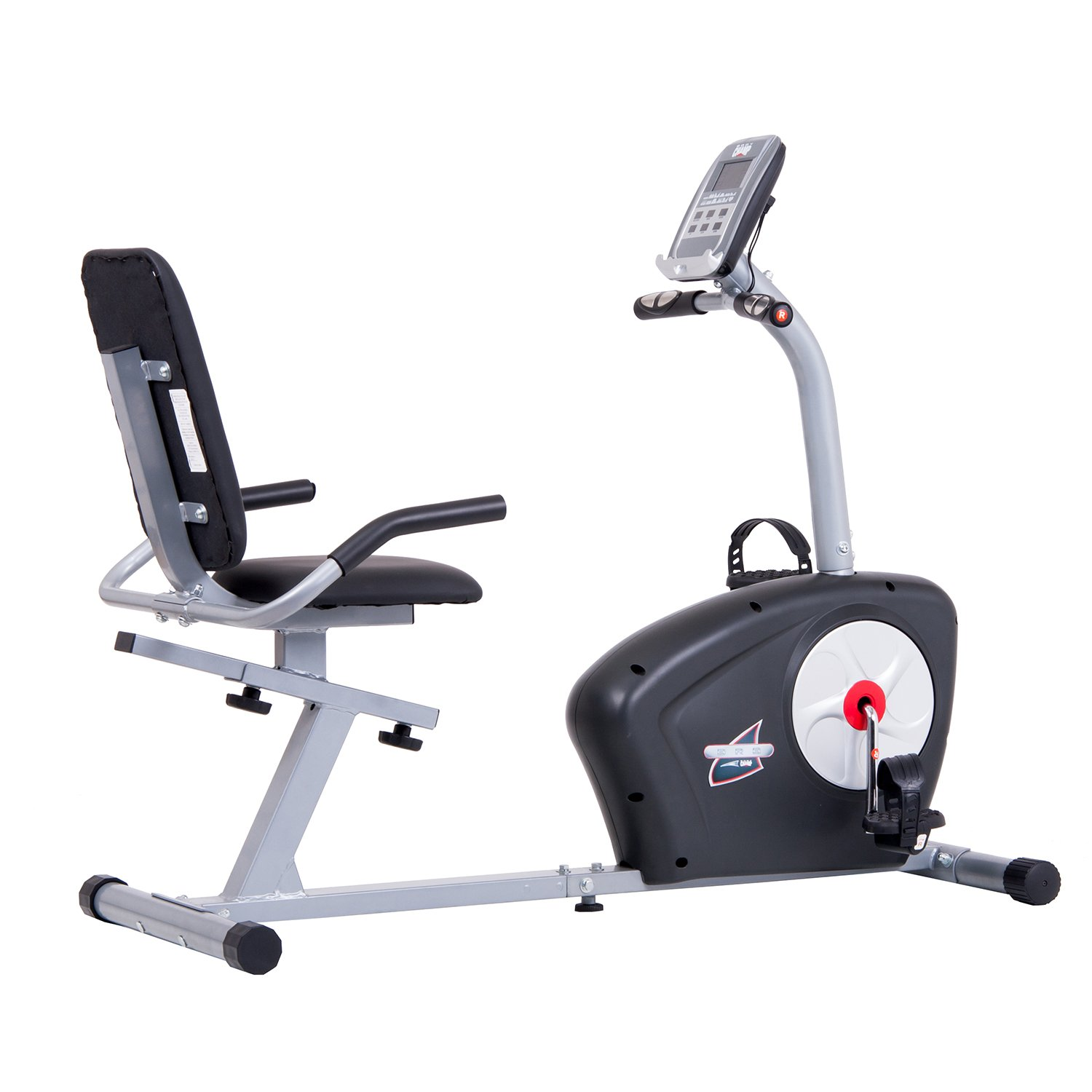 Body Champ Magnetic Recumbent Exercise Bike with Computer Program, Pulse and Resistance / Reclined Seat Back Support by Body Champ (Image #1)