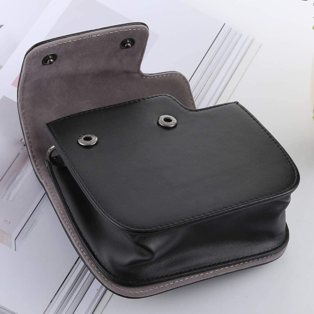 Mini 8+ Black YANTAIANJANE Camera Accessories Retro Style Full Body Camera PU Leather Case Bag with Strap for FUJIFILM instax Mini 9 Mini 8 Color : Brown