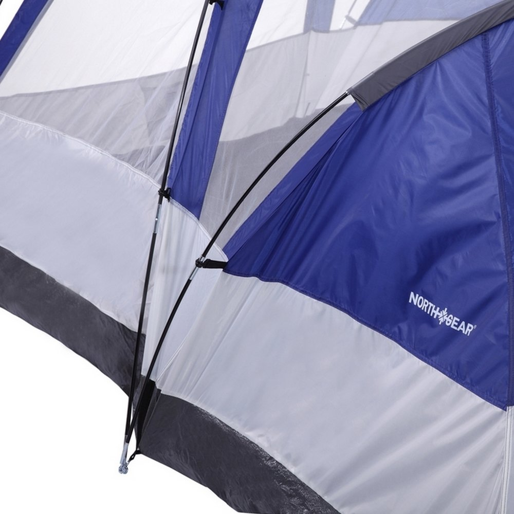 Amazon.com  North Gear C&ing Deluxe 8 Person 2 Room Family Tent  Sports u0026 Outdoors & Amazon.com : North Gear Camping Deluxe 8 Person 2 Room Family Tent ...
