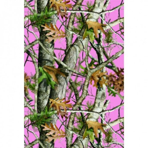 Pink Camouflage Gift Wrap (20 sqft., bows also available) Pink Camo Party Collection by (Gift Wrap Collection)