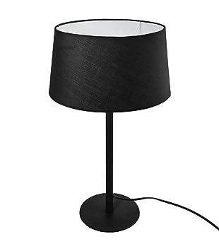 Lámpara Negro Y Atmosphera esHogar Pantalla H50Amazon Metal 543RjLA