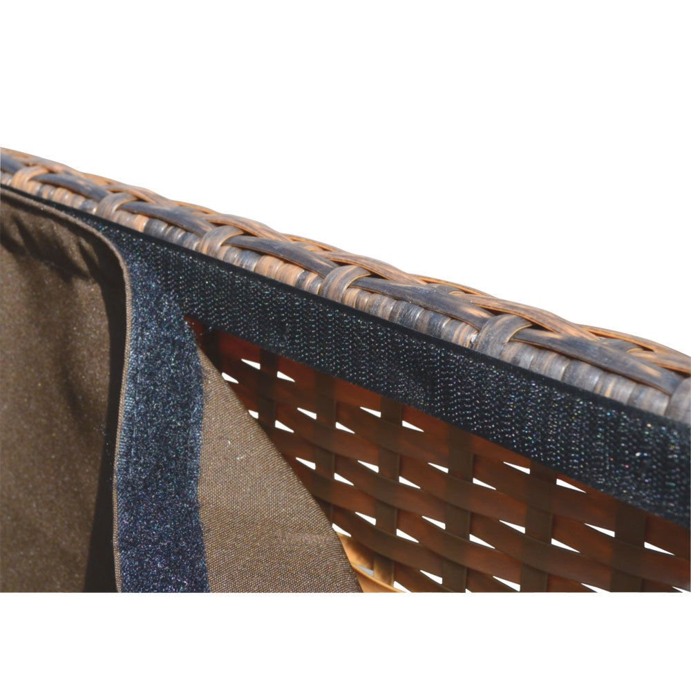 Style 2 ESPRESSO 64'' x 30'' x 30'' Large Wicker Storage Box Chest Deck Poolside Storing Patio Case by Generic (Image #7)
