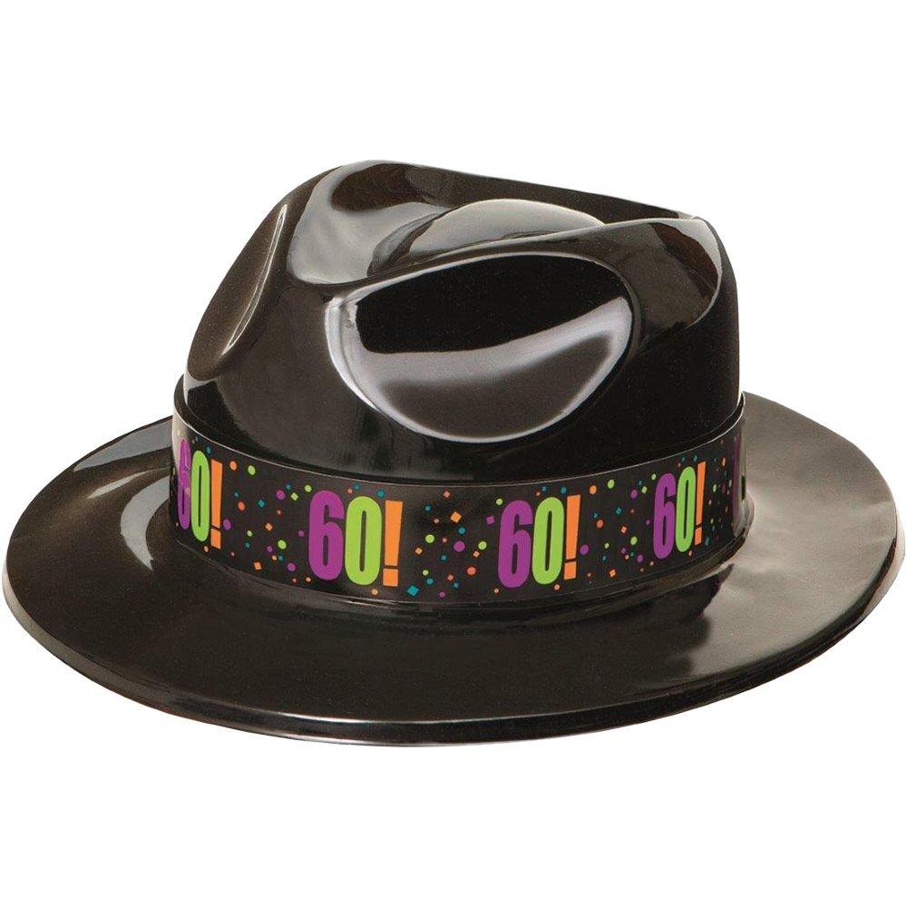 60th Birthday Gangster Hat (Each)