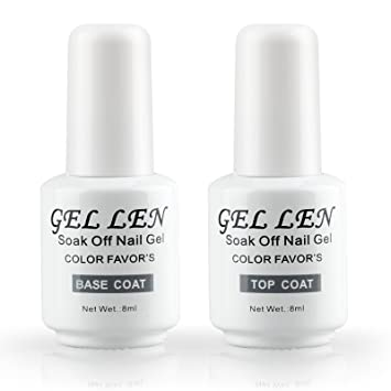 Gellen Uvled Base Top Coat Gel Nail Polish Nail Art Top Coat