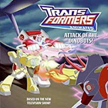 Attack of the Dinobots! (Transformers Animated) (Transformers Animated (Harper Entertainment)) by Rosenberg, Aaron (2008) Paperback