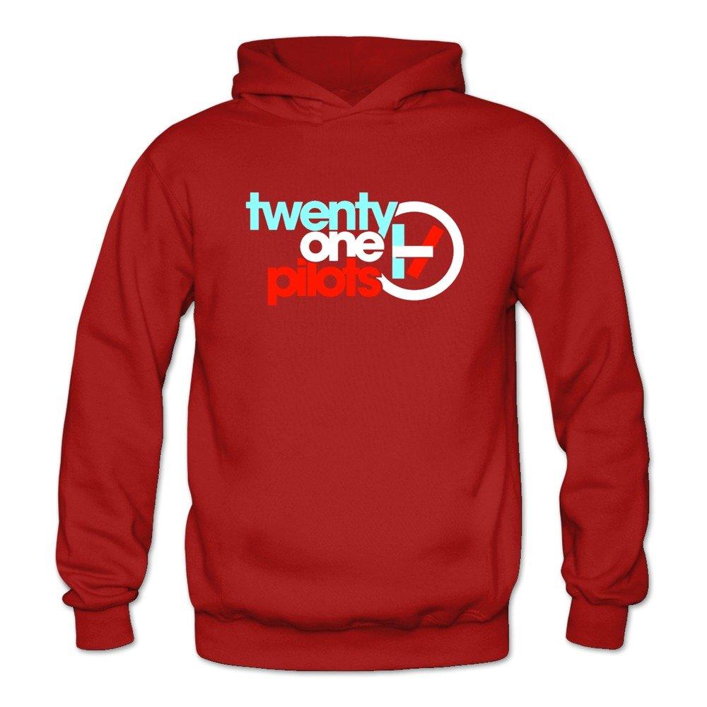 ToWi Women's Twenty One Pilots Logo Hoodie