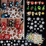 12 Sheet Christmas Snowflake Tree 3D Nail Art - Best Reviews Guide