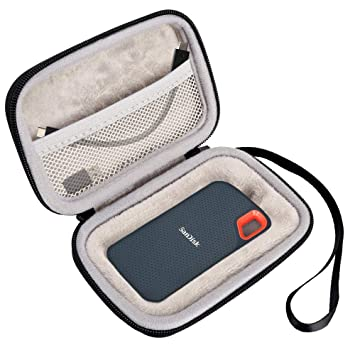 Amazon.com: Lacdo - Funda rígida de viaje para SanDisk 250 ...