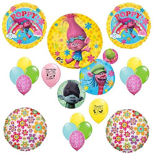 Trolls poppy balloon decoration kit for Balloon decoration kit