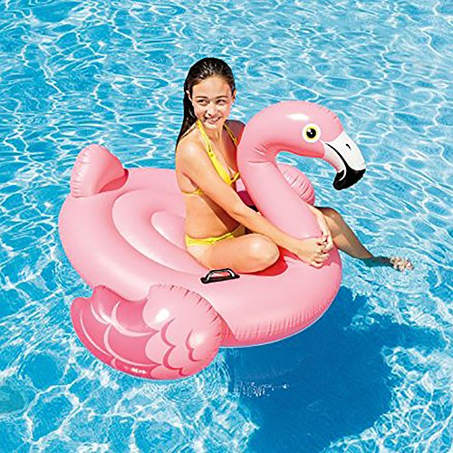 Intex Flamingo Inflatable Ride-On, 56' X 54' X 38', for Ages 3+