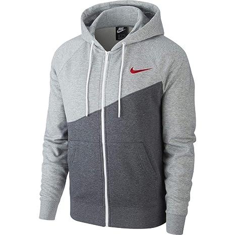 Nike M NSW Swoosh Hoodie FZ Ft, Felpa Uomo: Amazon.it: Sport