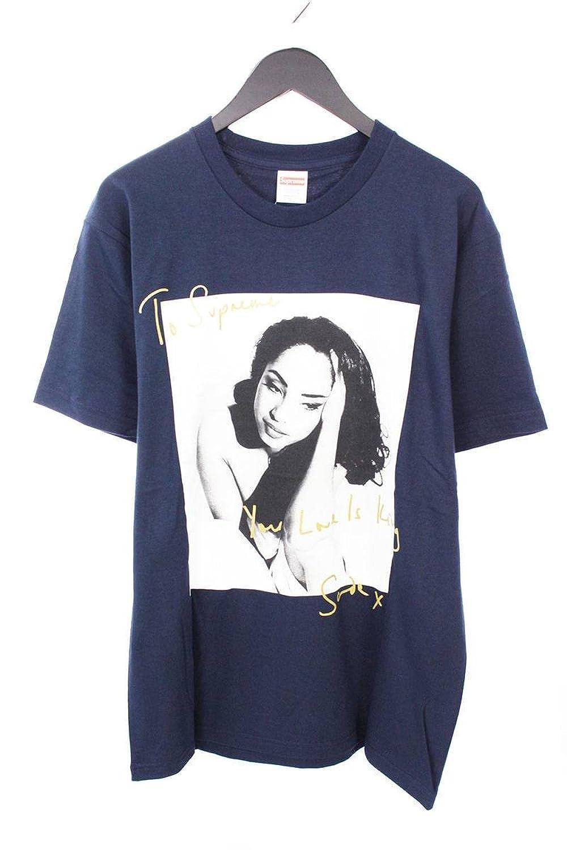 (シュプリーム) SUPREME 【17SS】【Sade Tee】シャーデーフォトプリントTシャツ(L/ネイビー) 中古 B07FRGV8B9  -