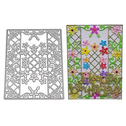 Flowers Cutting Die Scrapbooking Embossing Card Making Paper Craft Die  Cl