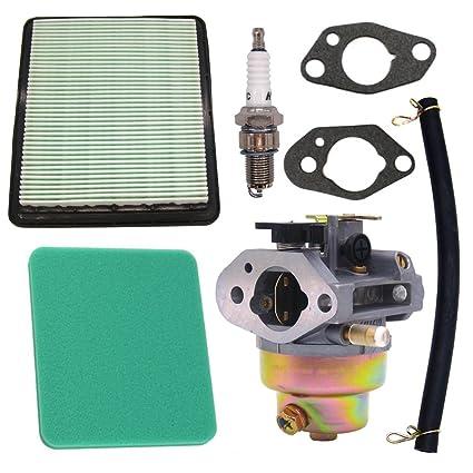 nimtek nuevo carburador + Bujía y filtro de aire para Honda Gcv160 ...
