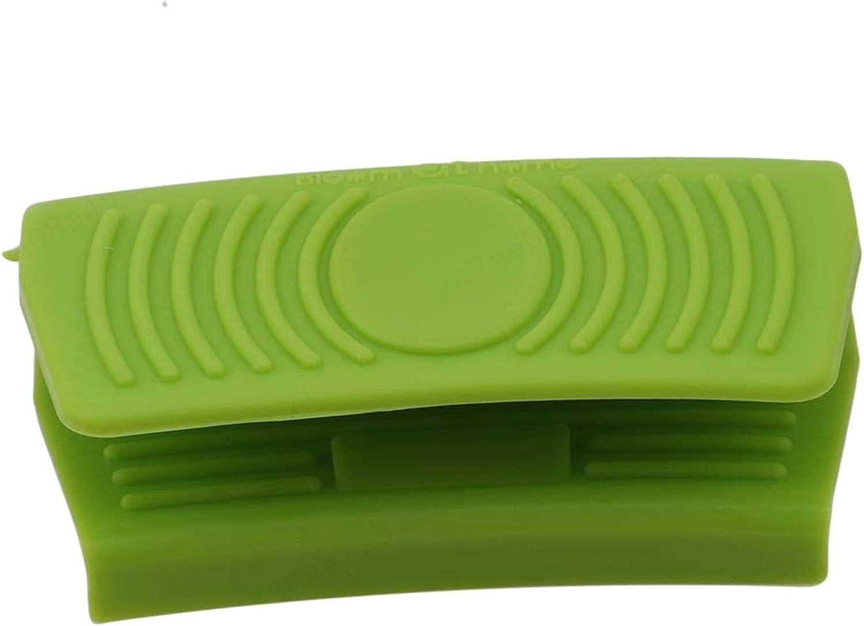 2 Piezas Soporte de Olla de Silicona Mini mit/ón de Horno Pinzas de Cocina Soluci/ón Resistente al Calor de Cocina Cocedores de agarrar pr/ácticos y duraderos YUNB
